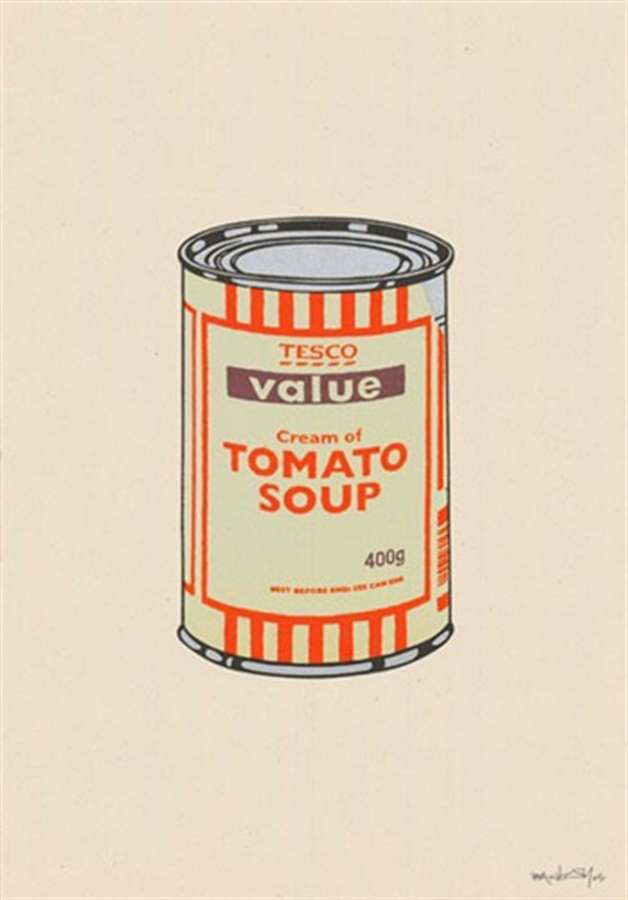 banksy-soupcan-mint-orange-brown