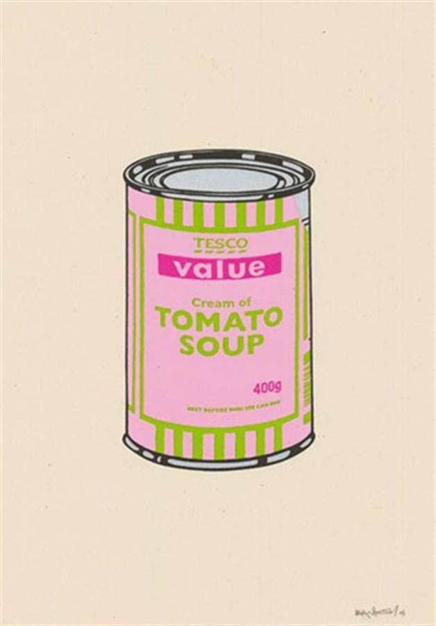 banksy-soupcan-pink-lime-hotpink
