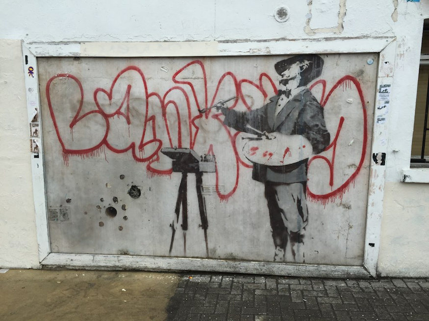 Seeing Banksy in London