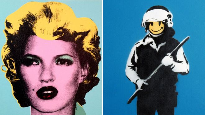 Banksy On View in Rome