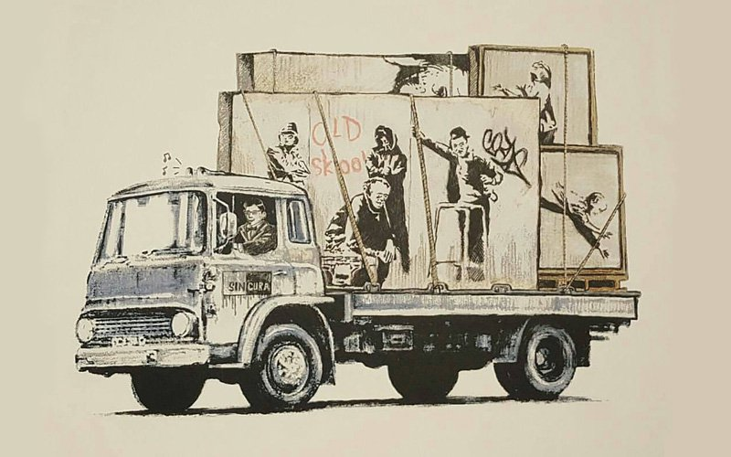 Gonefellow: Banksy Or Not?