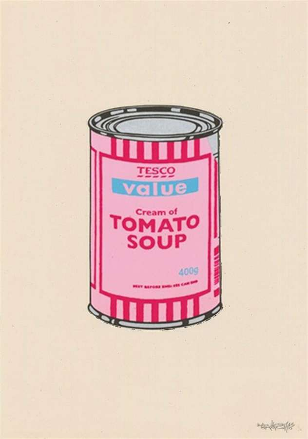 Tesco Soup Can – Cherry