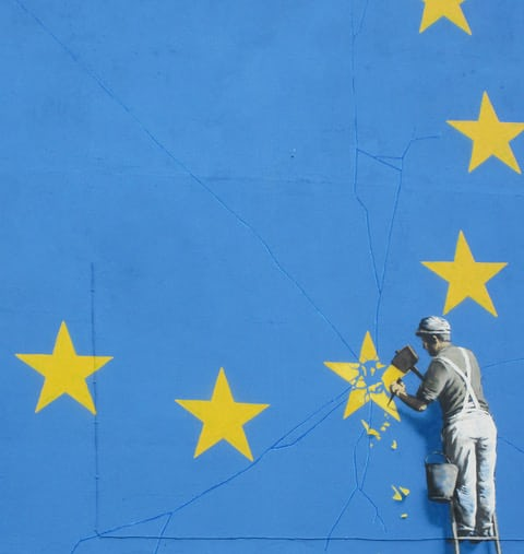 Banksy Speaks His Mind About Brexit